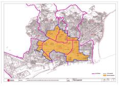 Mapa us turistic Barcelona